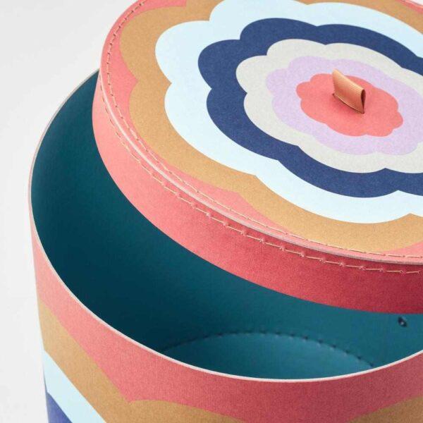 ИЛЛБАТТИНГ Декоративная коробочка, 2 шт., разноцветный - 804.679.71