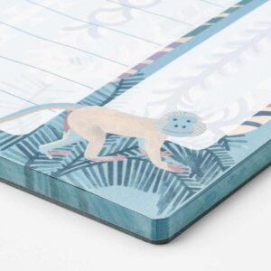 ИЛЛБАТТИНГ Еженедельник, разноцветный, зверюшка, 21x30 см/80 шт 80 гр/м? - 004.576.88