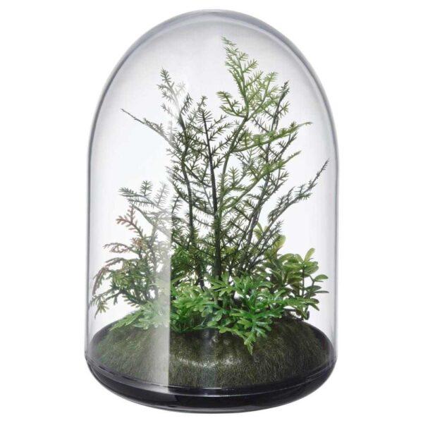 ИНВЭНДИГ Декоративный флорариум, 15 см - 504.611.31