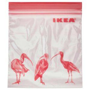 ИСТАД Пакет закрывающийся, с рисунком, розовый, 1 л - 204.654.37