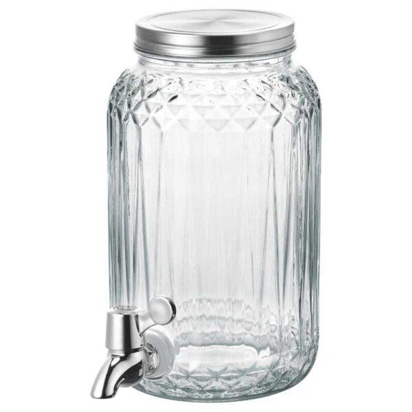 КАЛАСФИНТ Кувшин с краном, прозрачное стекло, 3 л - 104.463.07