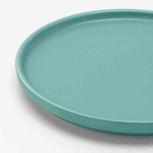КЕЙСЕРЛИГ Тарелка десертная, бирюзовый, 18 см - 604.509.81
