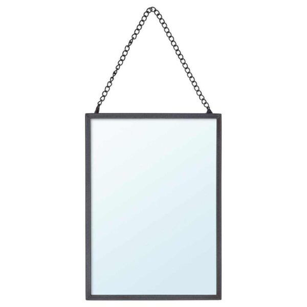 ЛАССБЮН Зеркало, темно-серый, 13x18 см - 004.432.72