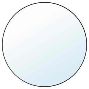 ЛИНДБЮН Зеркало, черный, 80 см - 904.586.26