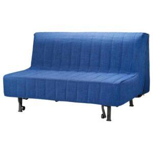 ЛИКСЕЛЕ 2-местный диван-кровать, Шифтебу синий темно-синий - 993.878.04