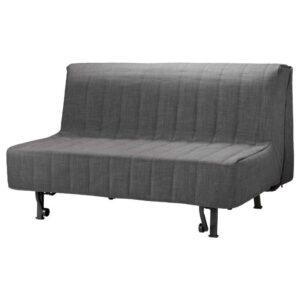 ЛИКСЕЛЕ 2-местный диван-кровать, Шифтебу темно-серый - 193.878.03