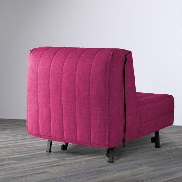 ЛИКСЕЛЕ Кресло-кровать, Шифтебу малиновый - 393.878.02