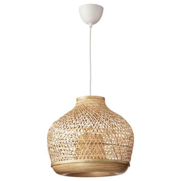 МИСТЕРГУЛЬТ Подвесной светильник, бамбук, 45 см - 304.410.21
