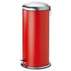 МЬЁСА Ведро с откидной крышкой, красный, 30 л - 104.620.62