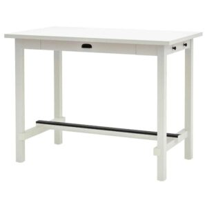 НОРДВИКЕН Барный стол, белый, 140x80 см - 703.696.12