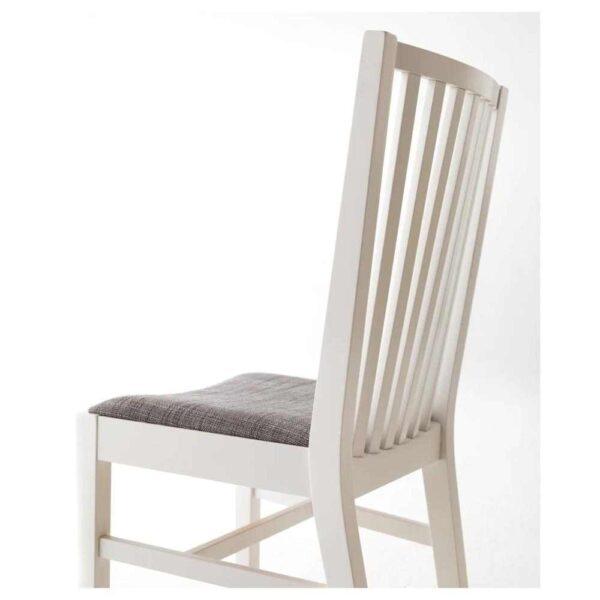 НОРНЭС Стул, белый, Гуннаред Исунда серый классический серый - 404.666.57