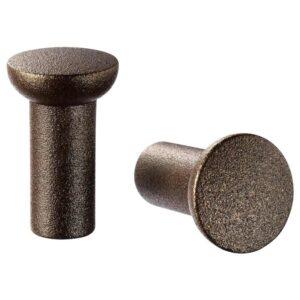 НИДАЛА Ручка мебельная, бронзовый цвет, 16 мм - 004.057.84
