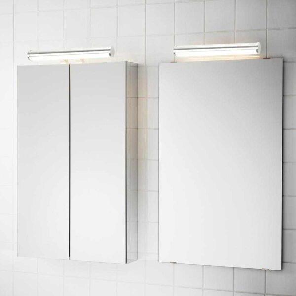 ЭСТАНО Светодиодная подсветка шкафа/стены, хромированный, 36 см - 904.572.74