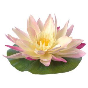 СМИККА Искусственный цветок, плавающий, д/дома/улицы Водяная лилия - 604.648.22
