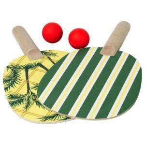 СОЛБЛЕКТ Ракетка и мячик, комплект, зеленый - 704.608.47