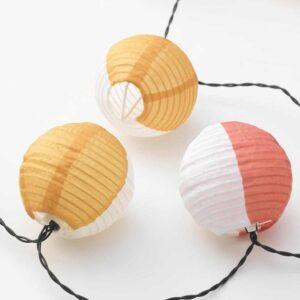 СОЛВИДЕН Гирлянда, 24 светодиода, для сада на солнечной батарее, шаровидный разноцветный - 004.542.70