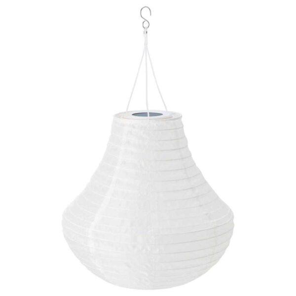 СОЛВИДЕН Подвесная светодиодная лампа, для сада, белый, 35 см - 604.547.76