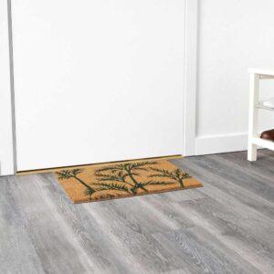 СОММАР 2020 Придверный коврик для дома, зеленый пальма, неокрашенный, 40x60 см - 704.648.50