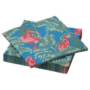 СОММАРЛИВ Салфетка бумажная, птица, разноцветный, 33x33 см - 904.462.90
