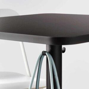 СТЕНСЕЛЕ Барный стол, антрацит, антрацит, 70x70 см - 593.239.27