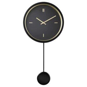 СТУРСК Настенные часы, черный, 26 см - 604.267.45