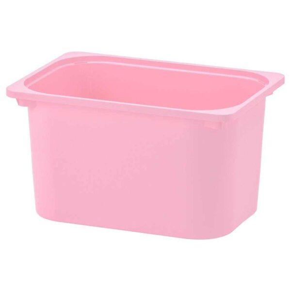 ТРУФАСТ Контейнер, розовый, 42x30x23 см - 104.662.77