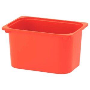 ТРУФАСТ Контейнер, оранжевый, 42x30x23 см - 904.662.83