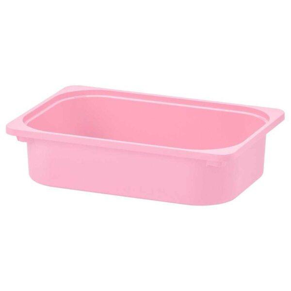 ТРУФАСТ Контейнер, розовый, 42x30x10 см - 404.662.90