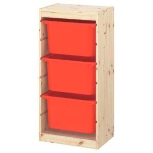 ТРУФАСТ Комбинация д/хранения+контейнеры - 193.359.46