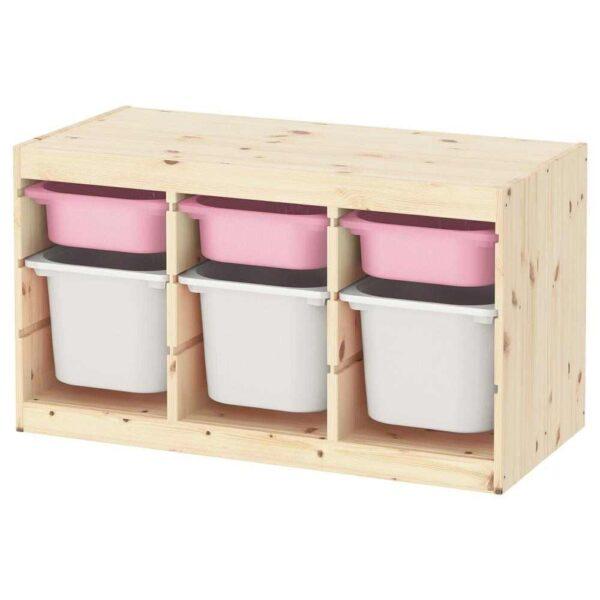 ТРУФАСТ Комбинация д/хранения+контейнеры - 293.315.99