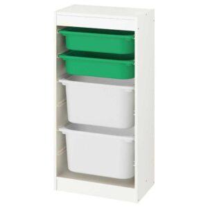 ТРУФАСТ Комбинация д/хранения+контейнеры - 193.376.34