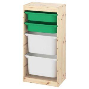 ТРУФАСТ Комбинация д/хранения+контейнеры - 993.378.33