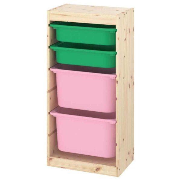 ТРУФАСТ Комбинация д/хранения+контейнеры - 393.381.09