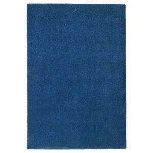 ТЮВЕЛЬСЕ Ковер, короткий ворс, темно-синий, 133x195 см - 104.295.53