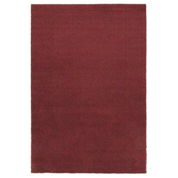 ТЮВЕЛЬСЕ Ковер, короткий ворс, темно-красный, 133x195 см - 804.268.48
