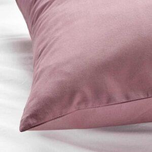 УЛЛЬВИДЕ Наволочка, темно-розовый, 50x70 см - 504.616.59