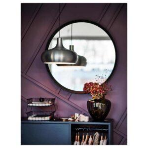 ВЭКШЁ Подвесной светильник, цвет алюминия, 38 см - 904.664.62