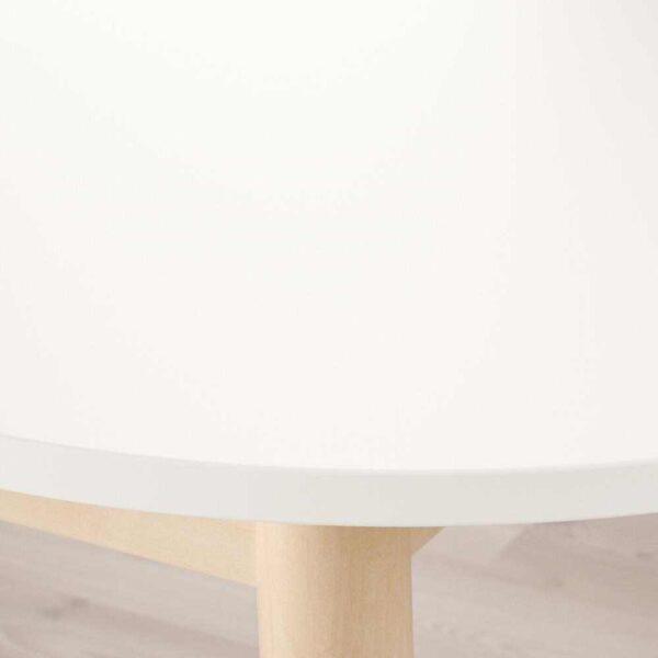 ВЕДБУ Стол обеденный, белый, 160x95 см - 704.174.58