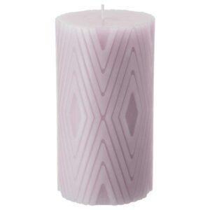 ВЕНТИЛЕРА Неароматич свеча формовая, светло-сиреневый, 14 см - 904.881.81