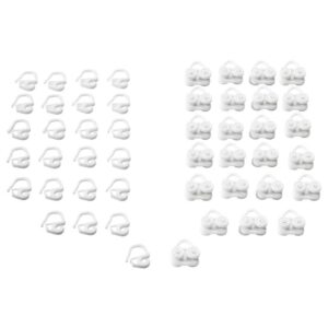 ВИДГА Бегунок и крючок, белый - 103.707.22