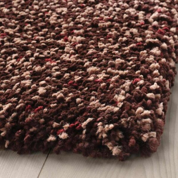 ВИНДУМ Ковер, длинный ворс, коричневый, 200x270 см - 304.459.67