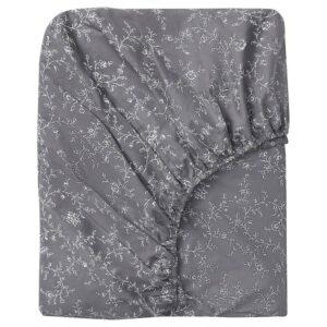 КОППАРРАНКА Простыня натяжная, с цветочным орнаментом, 90x200 см - 504.753.88