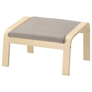ПОЭНГ Подушка-сиденье на табурет для ног, Хили бежевый - 904.693.71