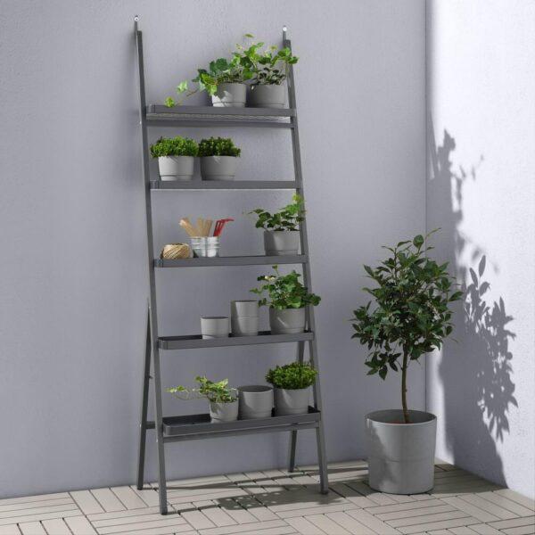 СЭЛЛАДСКОЛЬ Пьедестал для цветов, для сада, серый, 173 см - 804.511.02