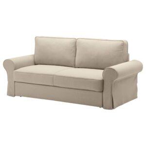 БАККАБРУ 3-местный диван-кровать, Идекулла бежевый - 804.853.19