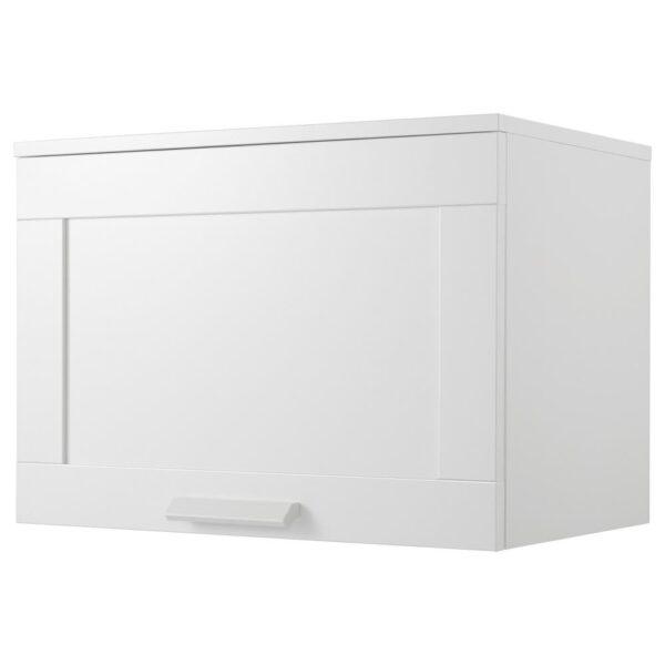 БРИМНЭС Навесной шкаф с дверцей, белый, 60x41 см - 104.852.33