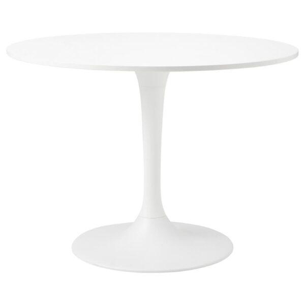 ДОКСТА Стол, белый, белый - 693.968.62