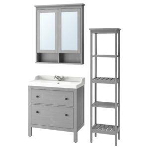 ХЕМНЭС / РЭТТВИКЕН Комплект мебели для ванной,5 предм. - 893.899.69