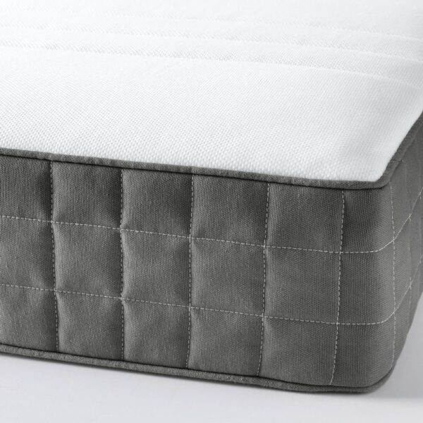 ХОВОГ Матрас с пружинами карманного типа, очень жесткий, темно-серый, 90x200 см - 104.770.11