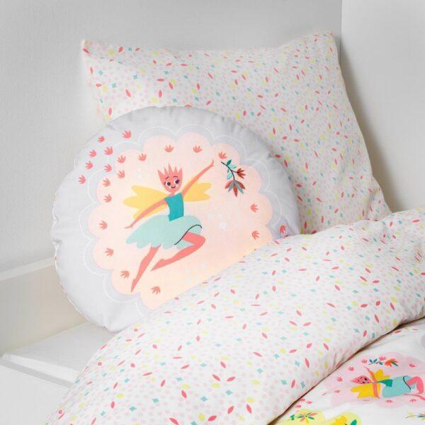 ЛАТТО Подушка, фея, светло-розовый сиреневый, 41 см - 803.512.92